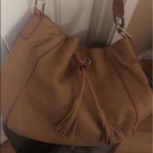 Liz Claiborne soft (satchel) purse.